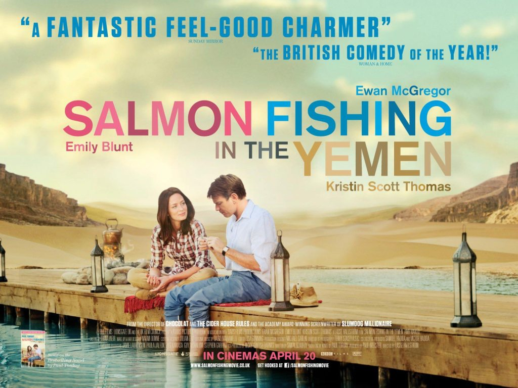 Recensione IL PESCATORE DI SOGNI (Salmon Fishing in the Yemen): Un bella commedia romantica con un sempre ottimo Ewan McGregor.