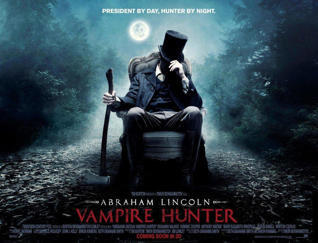 Recensione LA LEGGENDA DEL CACCIATORE DI VAMPIRI (Abraham Lincoln: Vampire Hunter): Un buon film d'avventura più che un horror.