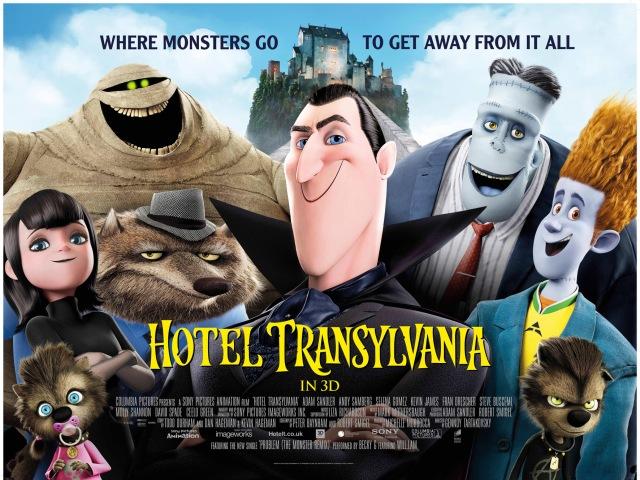 hotel transylvania poster locandina