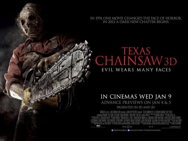 Texas-Chainsaw-3D Poster - locandina