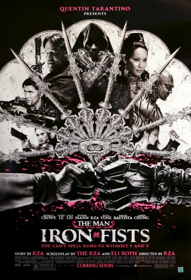 the man with the iron fists - l'uomo con i pugni di ferro poster - locandina