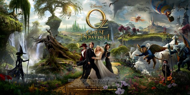 oz-the-great-and-powerful-poster - locandina