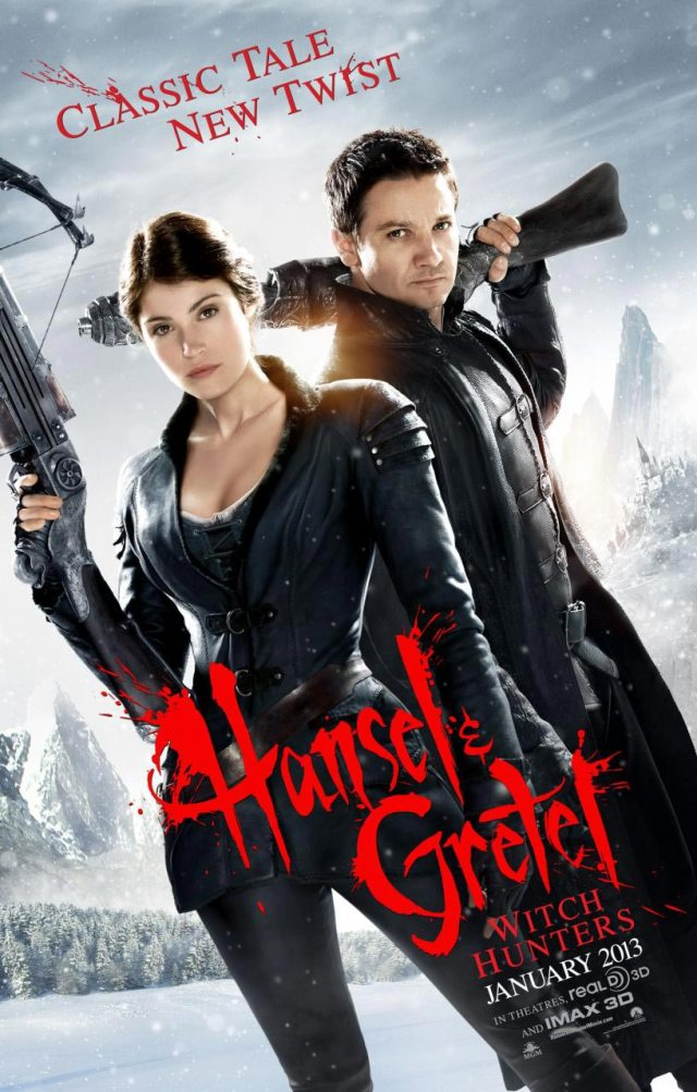 hansel-and-gretel-witch-hunters POSTER LOCANDINA