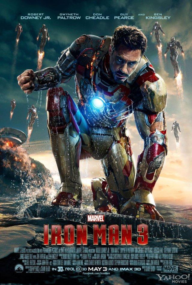 iron man 3 poster locandina