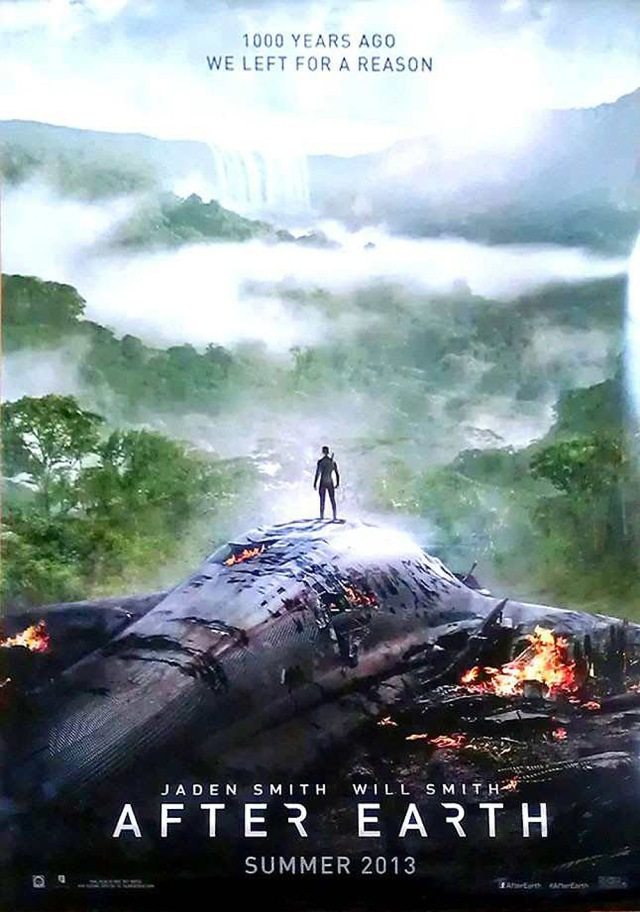 AFTER-EARTH-Poster locandina