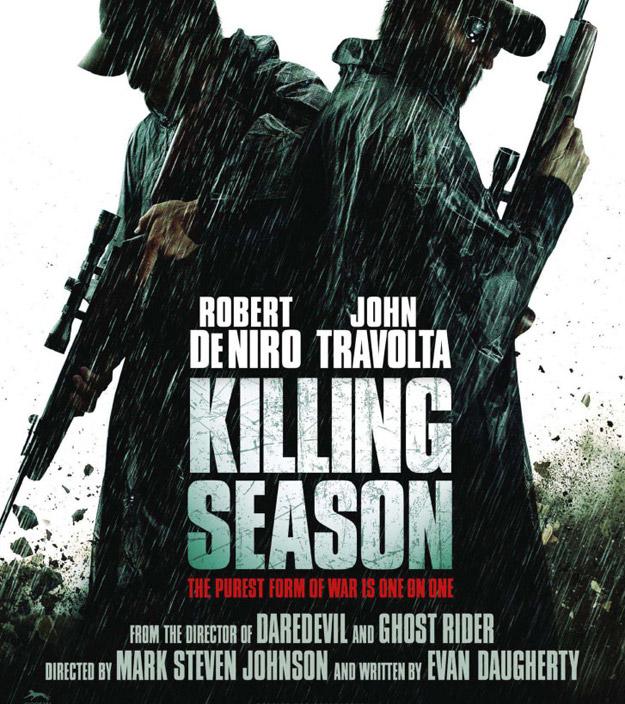 killingseason  poster locandina