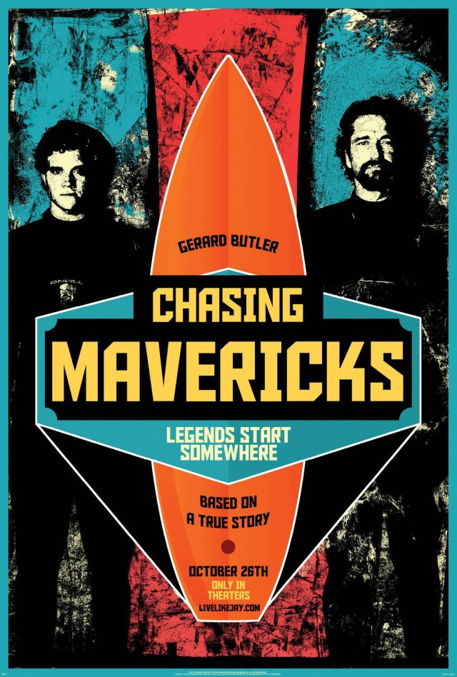 Chasing-Mavericks-Poster locandina