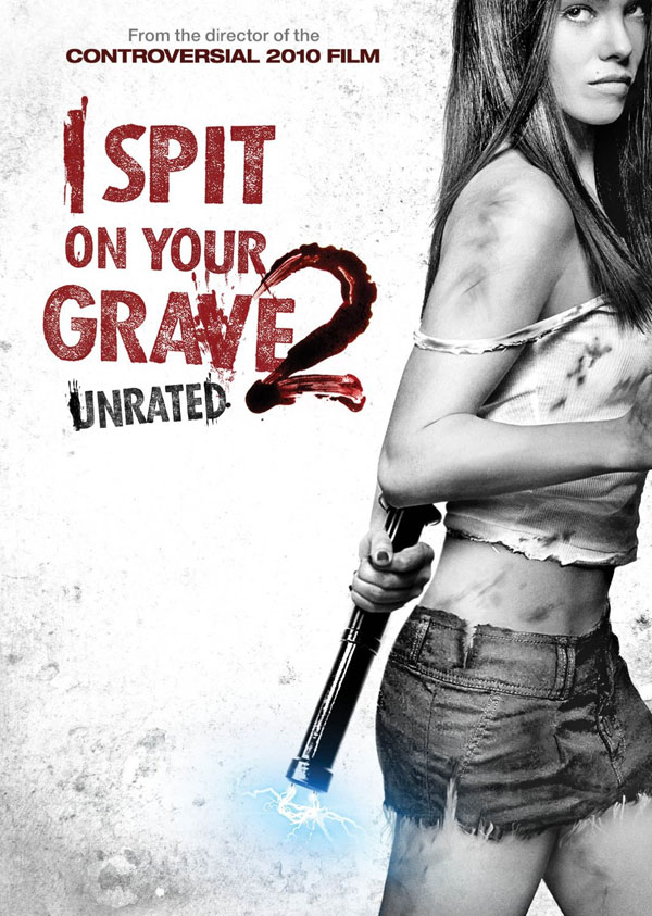 i spit on your grave 2 poster locandina