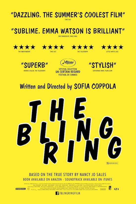 TheBlingRing poster locandina