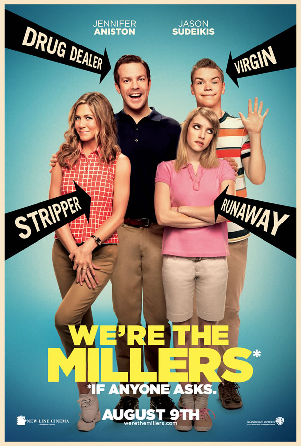were-the-millers-poster locandina us