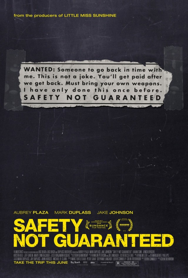 safety_not_guaranteed poster locandina
