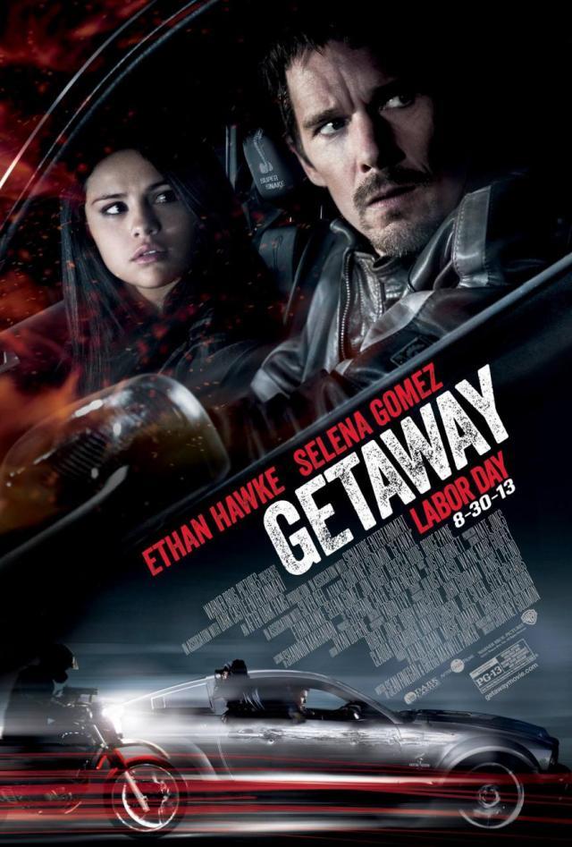 GETAWAY-Poster LOCANDINA