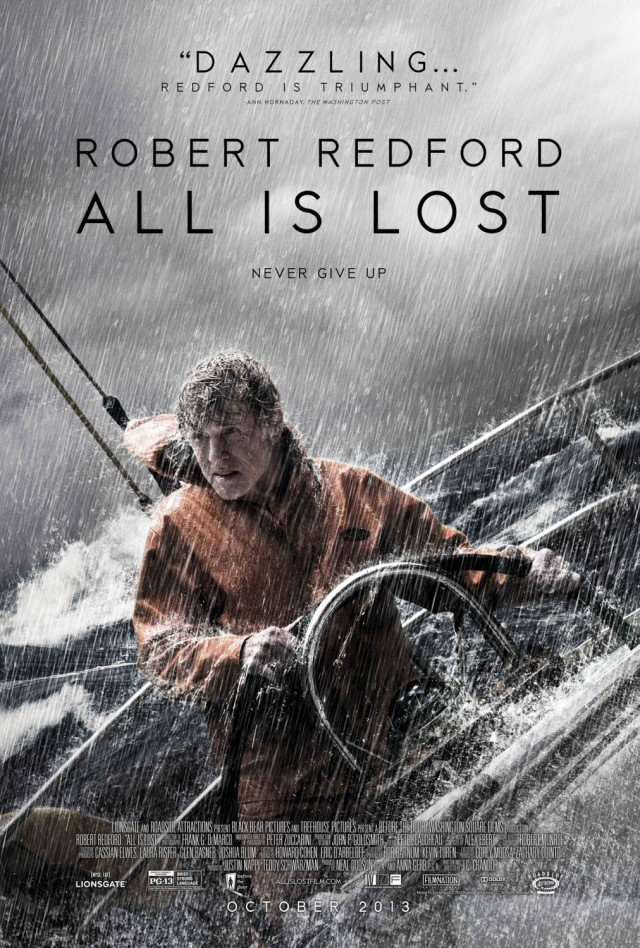 all_is_lost POSTER LOCANDINA