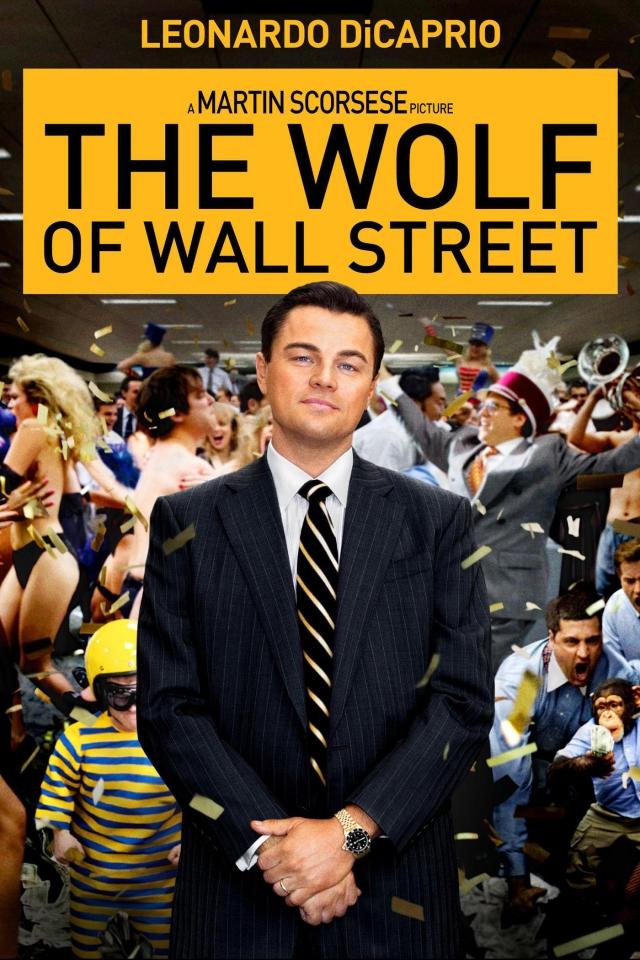 TheWolfofWallStreet locandina poster