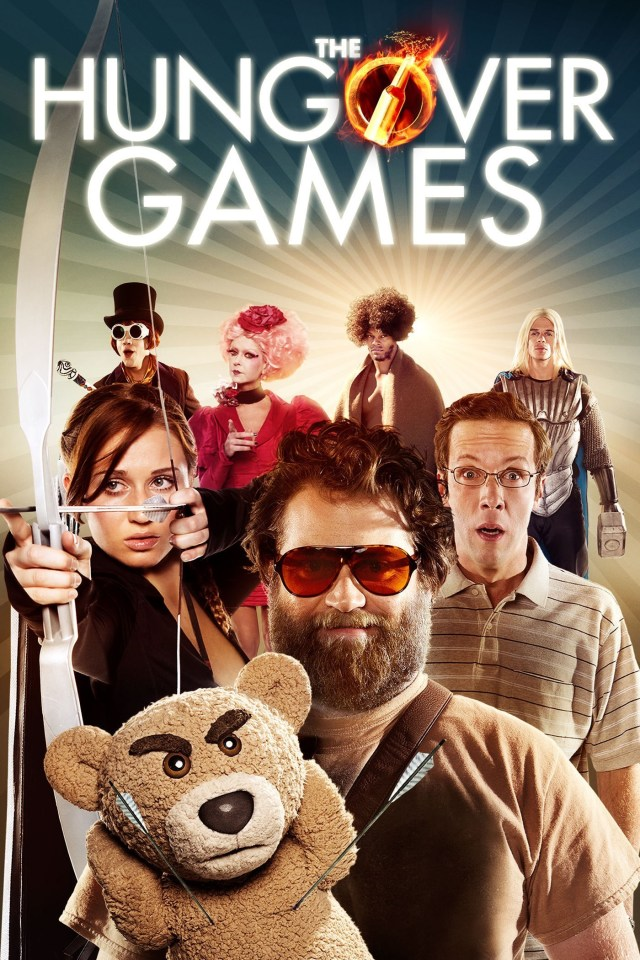 the-hungover-games poster locandina