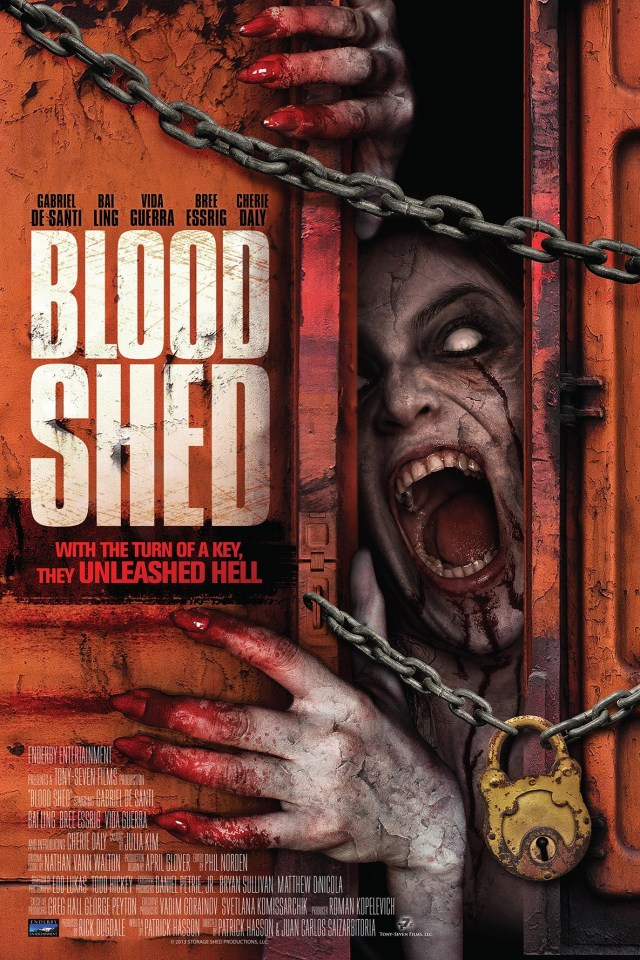 blood-shed POSTER LOCANDINA