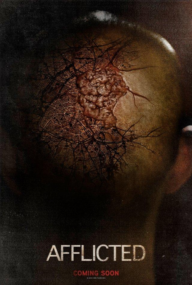 Afflicted.Poster LOCANDINA