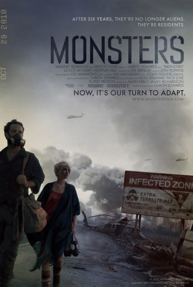 Monsters-Poster locandina