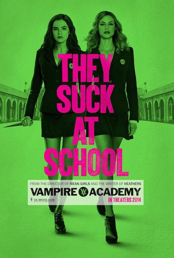 vampire academy - poster locandina