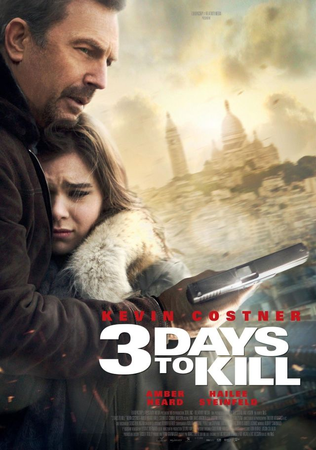 three-days-to-kill-poster LOCANDINA