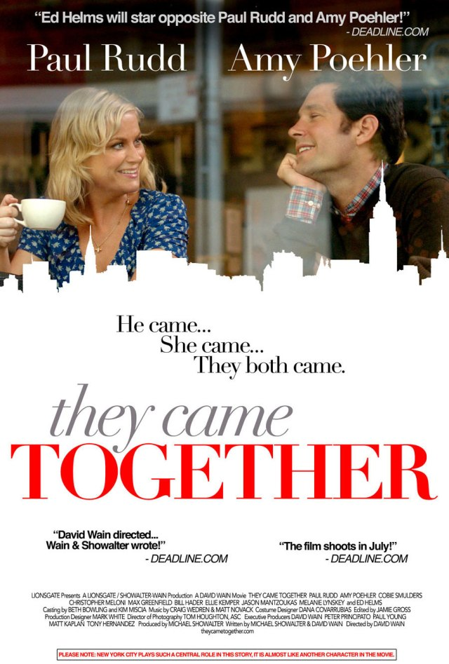 they came together poster locandina